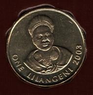 SWAZILAND 1 LILANGENI 2003 KM# 45  Mswati III - The Queen Mother - Swaziland