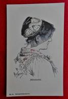 CPA 1906 Illustrateur Wilhelm Hasemann / Femme Costume Forêt Noire/ Mühlenbachtal - Andere Illustrators
