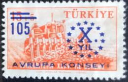 Türkiye - Turkije -  T2/13 - MNH - 1959 - Michel 1625 - 10 Jaar Raad Van Europa - Ungebraucht