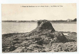 La Forêt-Fouesnant  (29 - Finistère) Plage De Kerliven Vue De La Roche Carrée - La Forêt-Fouesnant