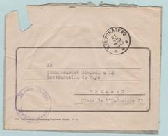 Reich, KREIS Kdtr. NEUFCHATEAU, Obercommando Wehrmacht, S.S, - Enteros Postales