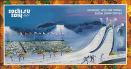 Russia Postal Stationary 2014 Sochi Olympic Games - Used Sochi 2014 (G73-96) - Winter 2014: Sochi