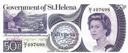 SAINT HELENE 1979 50 Penny - P.05a  Neuf UNC - Saint Helena Island