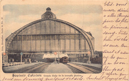 Antwerpen Anvers  Souvenir D'Anvers Grande Halle De La Nouvelle Station  La Gare Statie Perron Antwerpen Centraal M 7154 - Antwerpen