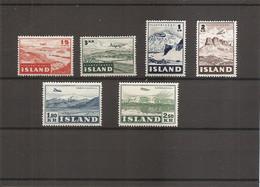 Islande ( Lot De 6 Timbres Différents XXX -MNH- De PA ) - Airmail