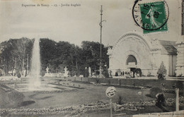 EXPOSITION DE NANCY Jardin Anglais - Nancy