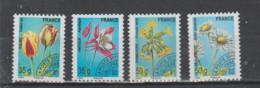 France  Préoblitéré  2011    N° 259 / 62  Neuf X X  4 Valeurs  Fleur - 1989-....