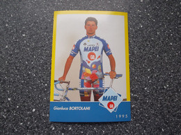 LOCATE DI TRIULZI / ITALY: Cycliste Gianluca Bortolami - Mapei - GB 1995 - Cycling