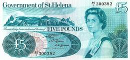 SAINT HELENE 1981 5 Pound - P.07b  Neuf UNC - Saint Helena Island
