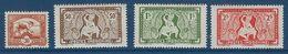 "Indochine YT 232 à 235 "" Série Complète "" 1943 Neuf** - Unused Stamps"