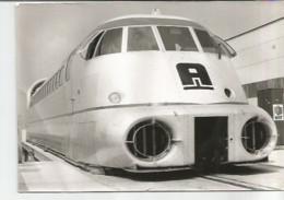 F1 Cpa / Photo Ancienne AEROTRAIN  Train Reproduction Tampon 78 Plaisir - Treinen
