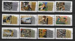 2012 - 75 - 699 à 710 - Peintures Du XX° Siècle : Cubisme - Gebruikt