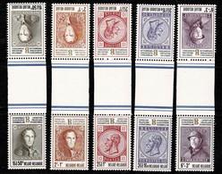 Belg. 1972 OBP/COB  KT 23/31** (1627/35) MNH (2 Scans) - Tete Beche
