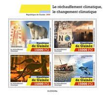 GUINEA 2020 - Global Warming, Pollution. Official Issue [GU200246a] - Polucion