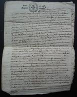 1674 Généralité De Grenoble Barthélemy Grangier Petit Papier Un Sol La Feuille Document De 8 Pages à Déchiffer - Manuscripts