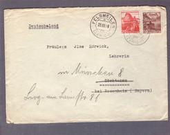 Lettre  Aff  30 Rp ʘ Feldmeilen 20.03.1940->Söchtenau > München -Zensur/censure  ʘ E - Covers & Documents