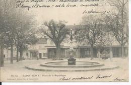 356 - SAINT-REMY - PLACE DE LA REPUBLIQUE - Saint-Remy-de-Provence