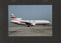 ORIENT THAI AIRLINES. Locheed L-1011-1 (HS-UTE) - Airplane Postcard (1AK141) - 1946-....: Era Moderna