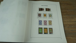 Vatican Poste - Album DAVO  1852 - 2001 - Nice Collection (incomplete) ** Mint Never Hinged. - Collections