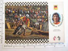 Sports Sport Moto Série Motocross Maico Hans Maisch Allemagne - Moto Sport