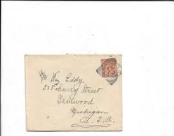 Brief Nach Newbridge In Die USA 1933 - Covers & Documents