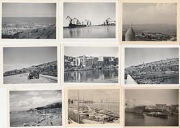 Sète - Lot De 23 Photographies Anciennes - Places