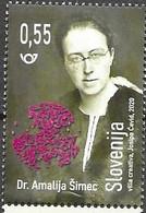 SLOVENIA, 2020, MNH, FAMOUS WOMEN, MEDICINE, DR. AMALIJA SIMEC,1v - Autres