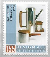2020  Deutschland Allem. Fed.Mi. 3570**MNH   Design Aus Deutschland  Kaffeeservice Von Karl Dittert - Unused Stamps