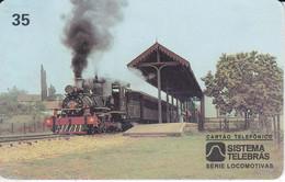 TARJETA DE BRASIL DE UN TREN (TRAIN-ZUG) - Trenes