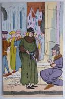 Paris Sous Charles V - Les Escholiers - CPA Illustrée Savigny - 1905 Convoyeur Laval à Guingamp - Altre Illustrazioni