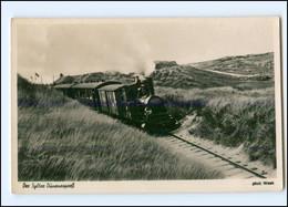 XX007205/ Sylt Inselbahn Dünenexpreß Foto AK Ca.1955 - Sylt