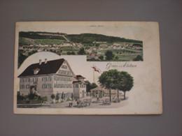 EBIKON - GASTHOF ZUR LOEWEN - LITHO - LU Lucerne