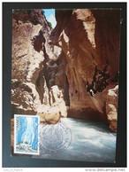 Carte Maximum Maximum Card Gorges Du Verdon Canyon 1978 - Non Classés
