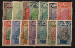 Guinée - 1922-26 - N°Yv. 84 à 98 - Série Complète - Neuf Luxe ** / MNH / Postfrisch - Unused Stamps