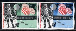 Samoa 1969 Mi# 204-205 ** MNH - Apollo 11 / Space - Samoa