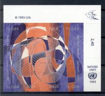 Nations Unies Genève 1993 - Y & T N. 255/58 - Journée Internationale De La Paix (Michel N. 235/38) - Unused Stamps
