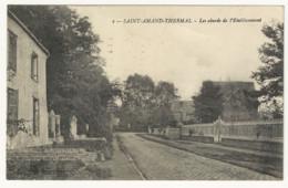 CPA-SAINT-AMAND-THERMAL- Les Abords De L'établissement - Saint Amand Les Eaux
