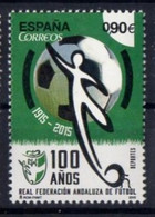 Spain 2015. Sport. Centenary Of The Andalusia Football Federation.  MNH - 2011-... Ongebruikt