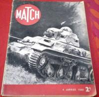 Match 4 Janvier 1940 WW2 Noël Sur La Ligne Maginot, Blessés Des Premiers Combats, Attentat Munich Contre Hitler, Opéra - 1900 - 1949