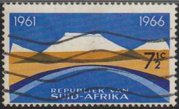 Sudafrica 1966 Scott 313a Sello º Aniv Republica Sudafricana Paisaje Michel 354x Yvert 305 Suid Afrika RSA South Africa - Oblitérés