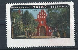 Schweden Malmö - Alte Reklamemarke - Vignette - Cinderella Stamp - 4 - Sonstige