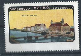 Schweden Malmö - Alte Reklamemarke - Vignette - Cinderella Stamp - 6 - Sonstige