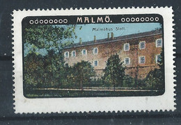Schweden Malmö - Alte Reklamemarke - Vignette - Cinderella Stamp - 7 - Sonstige