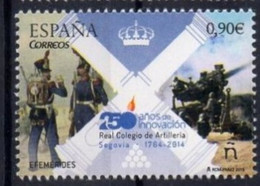 Spain 2015. 250 Years  Academy Of Artillery.   MNH - 2011-... Ongebruikt