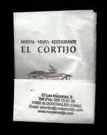 Tovagliolino Da Caffè - Hostal El Cortijo - Cadiz ( Spagna ) - Company Logo Napkins