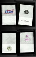 Tovagliolino Da Caffè - Lotto 4 Pezzi N. 13 - Company Logo Napkins