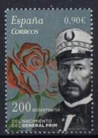 Spain 2015. General Juan Prim.   MNH - 2011-... Ongebruikt