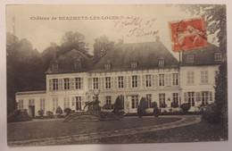 Carte Postale Beaumetz Les Loges Château 1907 - Andere Gemeenten