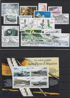 SAINT PIERRE ET MIQUELON ANNEE COMPLETE 2006 MNH Neufs + PA 86 + Bf 11 - Sauf 870 - Années Complètes