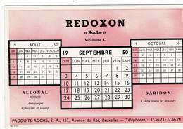 Buvard Rexodon 1950 - Droguerías